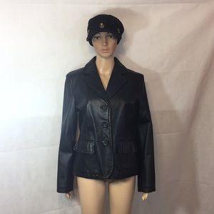 B Moss Leather jacket